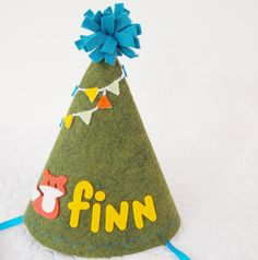 Handmade felt party hat by Mosey   Cool Mom Picks