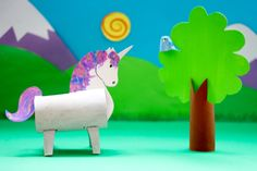 I needed to come up with a project for a craft workshop at Puzzlewood , and unicorns just seemed like the obvious choice. If they were go...