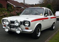 This ford escort mexico mk1 rally replica is for sale.