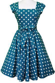 Lady V London swingové šaty Polly