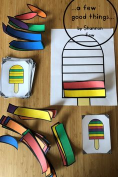 Popsicle Patterns A Fun Addition To Your Summer Math Center Make The Patterns On The Cards Patterns Abab Abcd Aab Aabb Abb Abc Aabc Aaab Abbb And Abcc This Activity Is Also Included In The Summer Literacy And Math Bundle Summer Preschool Activities, Preschool Crafts, Toddler Activities, Activities For Kids, Preschool Science, Toddler Learning, Toddler Preschool, Free Preschool, Preschool Classroom