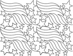 AnneBright.com - Shop   Category: Digitized Designs   Product: Stars and Stripes b2b Patriotic, Veterans, Quilts of Valor