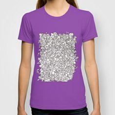 ~ Nekodarake ~ T-shirt by Noah's ART - $22.00