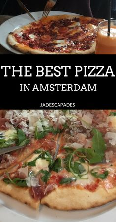 If you are looking for the best pizza in Amsterdam, La Perla's got it! #pizza #amsterdam