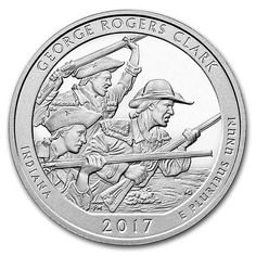 George Rogers Clark National Park ATB Silver Coin - America the Beautiful 5 Ounce Silver George Rogers Clark National Park The post George Rogers Clark National Park ATB Silver Coin appeared first on POSPO Investments. Bullion Coins, Silver Bullion, Us Coins, Rare Coins, Silver Coins For Sale, Dollar Money, Dollar Bills, Silver Investing, Valuable Coins