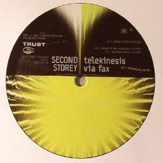 The artwork for the vinyl release of: Second Storey - Telekinesis Via Fax (Trust) Electro Underground Music, Vinyl Records, Trust, Artwork, Work Of Art, Auguste Rodin Artwork, Artworks, Illustrators