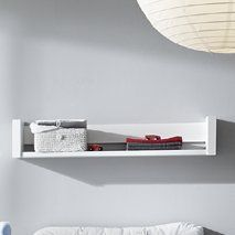 Schardt Wall Shelf Planet White