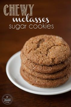 Chewy Molasses Sugar Cookies are easy to make holiday favorites, and each soft and chewy bite packs the perfect amount of sweet and spice. Hello! And welcome to Day 6 of Every year I make tons of holiday cookies and treats to package up and send off to my loved ones. I try to mix it up every year and throw some new recipes into the mix, but I have a couple favorites that make the cut every year. These chewy molasses sugar cookies are definitely a favorite. I used to make homemade…