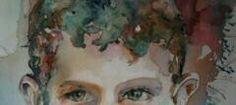 ritratto- volto - viso - acquerello