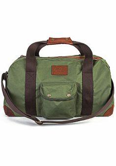 #planetsports BRIXTON - Vagrant Duffle Bag dark olive
