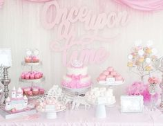 once upon a time decorations pink gold - Recherche Google