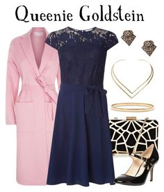 Queenie Goldstein / Fantastic Beasts and Where to Find Them by waywardfandoms on Polyvore featuring polyvore fashion style Billie & Blossom Robert Rodriguez Dorothy Perkins Kate Spade Natalie B clothing harrypotter evening fantasticbeastsandwheretofindthem