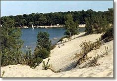 Where else can I find sand dunes in canada? Beautiful Places To Live, Oh The Places You'll Go, Places Ive Been, Prince Edward County Ontario, Best Romantic Getaways, Ontario Parks, Discover Canada, Atlantic Canada, Go Hiking