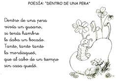 Lenguaje Oral en Ed Infantil Elementary Spanish, Spanish Class, Learning Spanish, Fun Learning, Spanish Activities, Kindergarten Activities, Preschool, Poetry Unit, Teaching Poetry