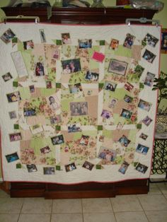 Family Memories Memory Quilt by DarcysThings on Etsy
