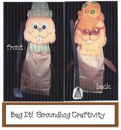 6 pages. Quick, easy and fun craftivity for your Groundhog Day celebration. 6 pages. Quick, easy and fun craftivity for your Groundhog Day celebration.