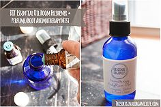 diy natural essential oils room mist perfume, cleaning tips, go green