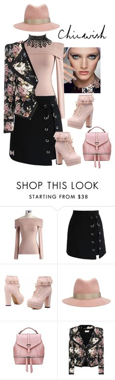 """""""Chicwish Contest"""" by jacksondobe ❤ liked on Polyvore featuring Chicwish, Christian Dior, rag & bone, Yves Saint Laurent and Amrita Singh"""
