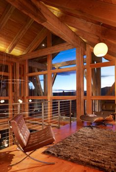 Modern Rustic and features Warmboard radiant. Reed Residence, Steamboat Springs   Cuded