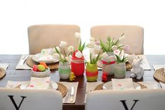 An Easter Table With a Neon Twist | Making it Lovely