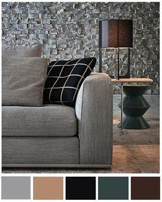 Colores perfectos para lograr un ambiente formal y elegante.