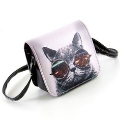 $5.85// Cat Graphic Shoulder Bag// Other graphics available//  Delivery: 2-6 weeks
