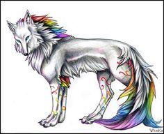 rainbow wolf | RAINBOW WOLF – NITYANANDA (Nevio Crivellaro) studia, pratica e vive ...