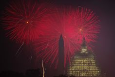 Americans marked the Fourth of July with parades, fireworks, eating contests and music.