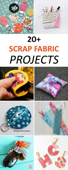 20+ Fun and Easy Scrap Fabric Projects