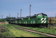 RailPictures.Net Photo: BN 732 Burlington Northern Railroad EMD F7(A) at Denver, Colorado by Mike Danneman