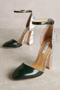 Vanessa Tao Glitter Heels