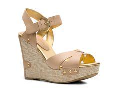Audrey Brooke Haleen Wedge Sandal #DSW