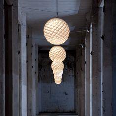 Patera Pendant Light///Design by Øivind Slaatto, 2015///By Louis Poulsen