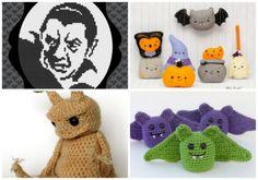 Halloween on Etsy - delightfully creepy Halloween patterns.