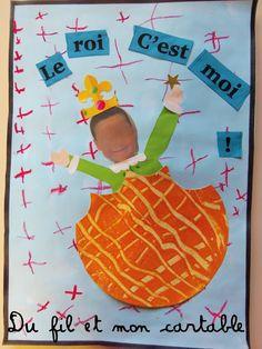 Du fil et mon cartable : Rois, Reines et ... Galette ! Diy Paper, Paper Crafts, Petite Section, Prince And Princess, Teacher Hacks, Photomontage, Crafts For Kids, Activities, Education