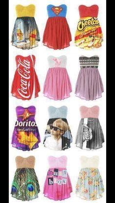 fun dresses…...