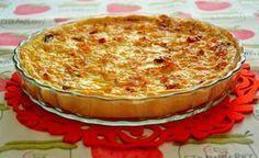 Quiche de frango e legumes Food Cakes, Salad Recipes, Cake Recipes, Bacon, Portuguese Recipes, Portuguese Food, Canapes, Carne, Food Porn