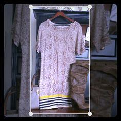 LOFT Dress Animal print 100% Merino Wool, Super Soft! LOFT Dresses Midi