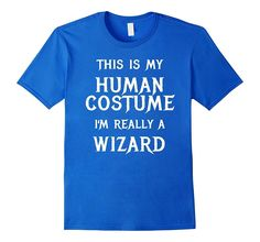 Wizard Halloween Costume Shirt Easy Funny for Men Boys Girls