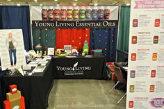 Young Living Expo Booth