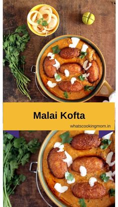 Restaurant-style Malai Kofta recipe. Step by step pics makes this Indian vegetarian Curry really easy to make at home. #malaikofta #indian #vegetarian #curry #recipe #dinner #lunch #indianfood