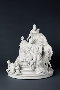 The Birth of the Dauphin | Locré and Russinger's porcelain factory | V&A Search the Collections
