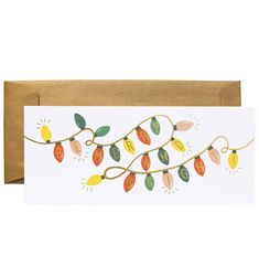 Be Merry and Bright Lights Available as a Single Folded Card or Boxed Set of 6