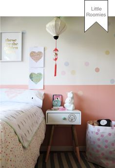 Our Squirrel lamp - in this great girls room by Roomie