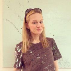Nicole Royer Art original hand-painted shirt