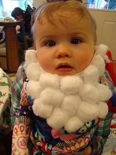 I Love to Create: Santa Baby Beards | Vickie Howell