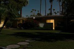 Minuit Architecture moderne photographie de Tom Blachford à Palm Spring Semaine modernisme