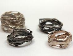 Organic metal rings