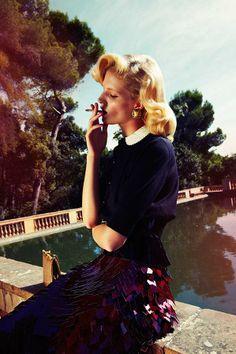 Sensual '40s Photography  Fanny by Esperanza Moya is Sensually Prim and Proper