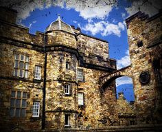 Iconic #Edinburgh #Castle in #Scotland, photo print for sale. #decor.